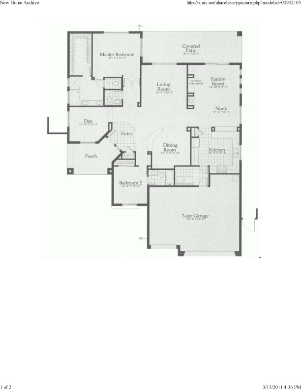 Anthem Floor Plans The Banneker All About Anthem