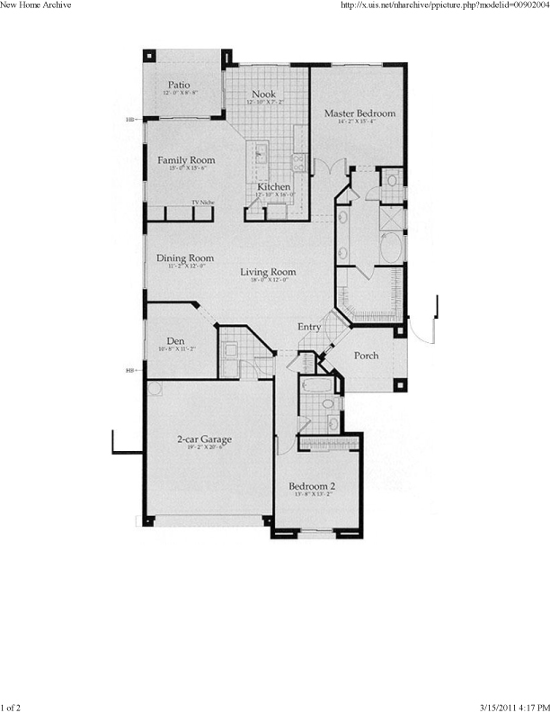 Anthem Floor Plans The Bonavista