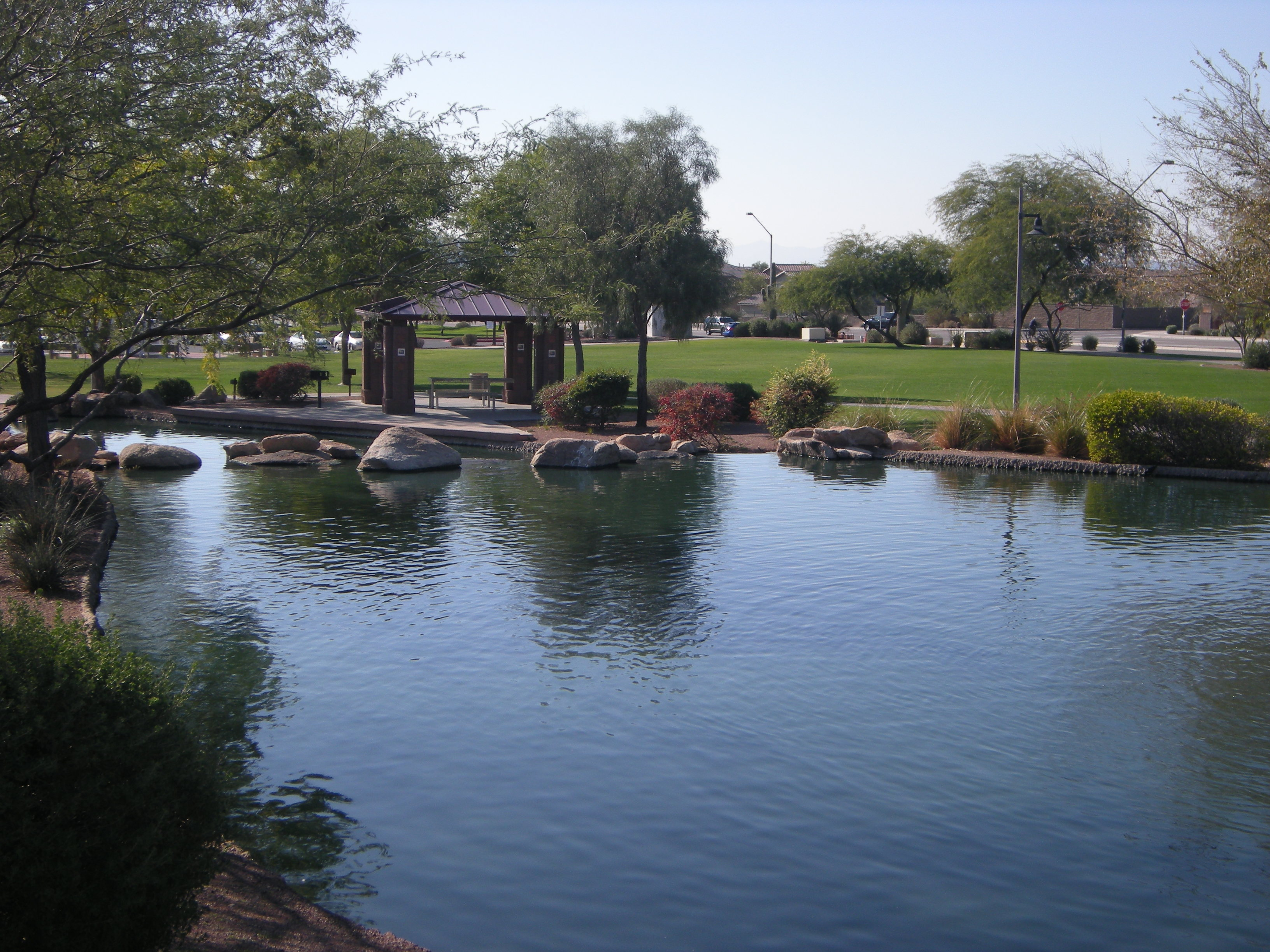 Pictures Of Anthem Fishing Pond