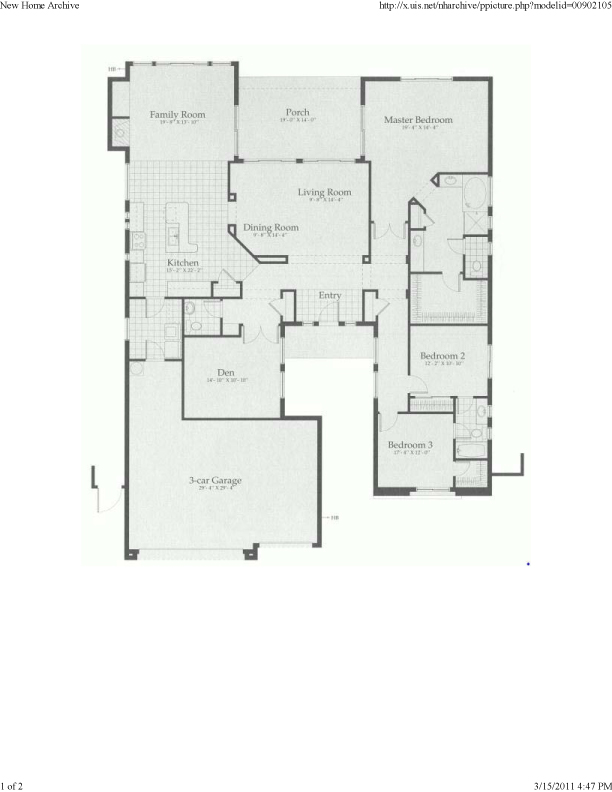 Anthem Floor Plans The Nicolet All About Anthem