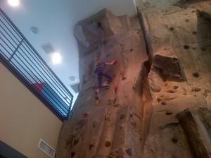 Community Center Rock Wall