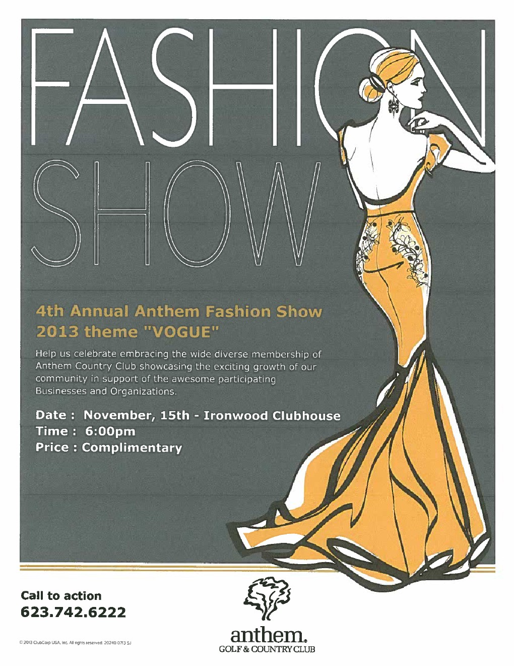 4th Annual Anthem Fashion Show All About Anthem