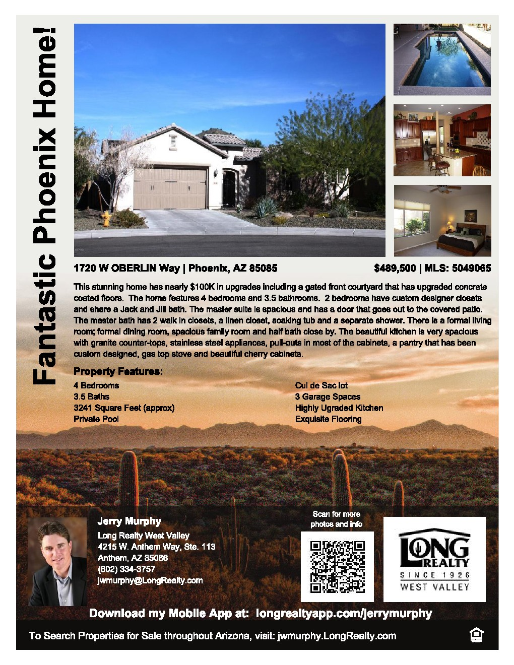 Phoenix Open House Saturday March 22nd 1pm 4pm All