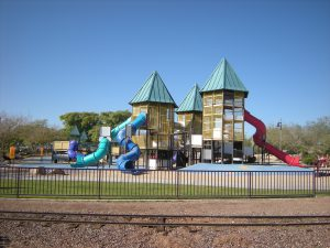 Picture of community park playground
